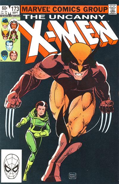Wolverine Covers: Uncanny X-Men #173