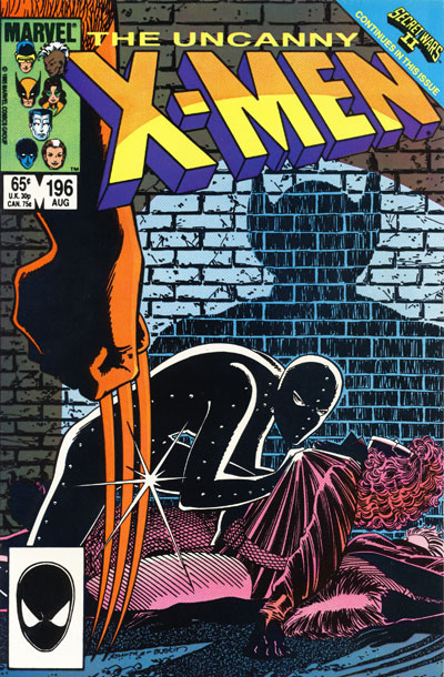 Wolverine Covers: Uncanny X-Men #196