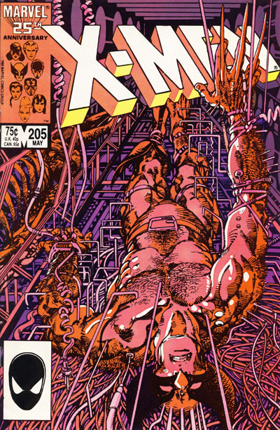 Wolverine Covers: Uncanny X-Men #205