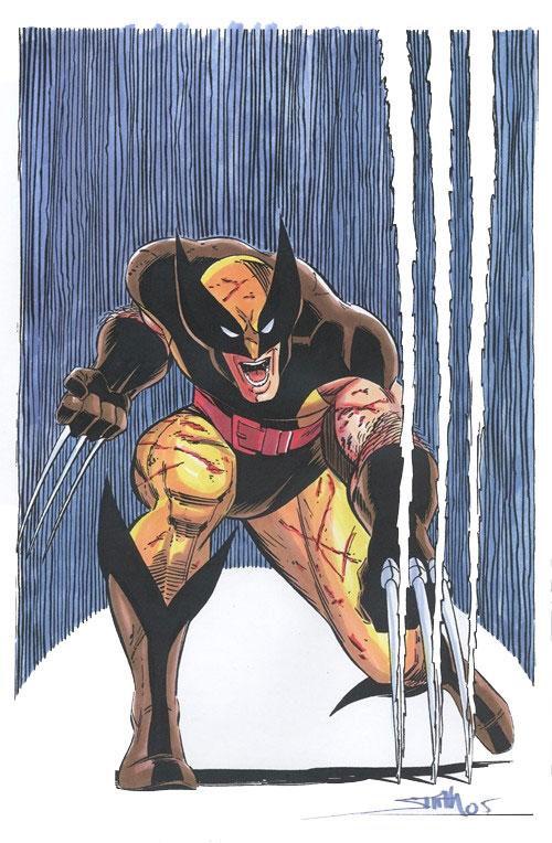 Wolverine Covers: Uncanny X-Men #207 color guide