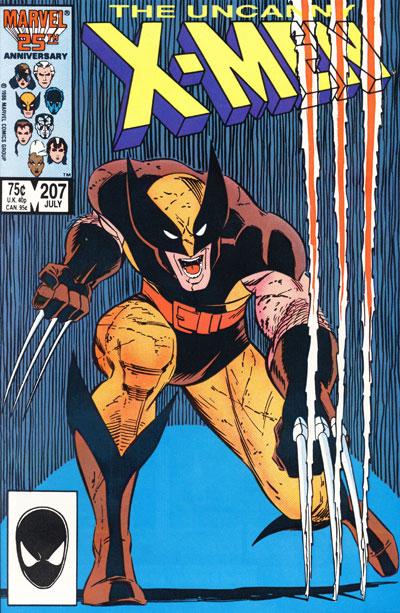 Wolverine Covers: Uncanny X-Men #207