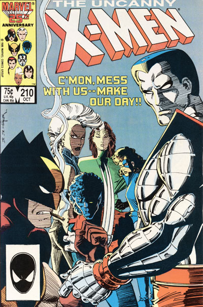 Wolverine Covers: Uncanny X-Men #210