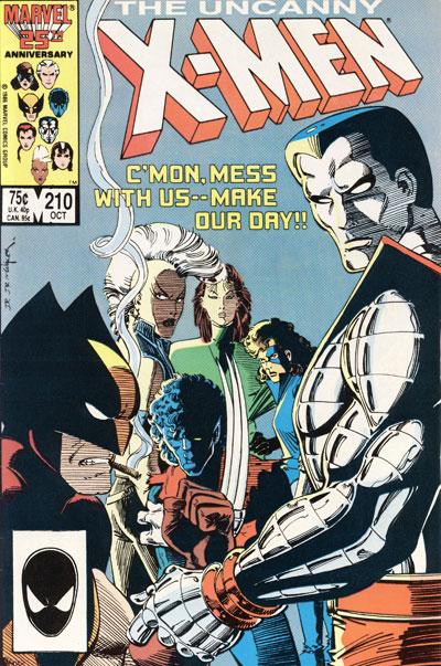 Wolverine Covers: Uncanny X-Men #210