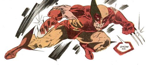 Wolverine Covers: Uncanny X-Men #212 panel