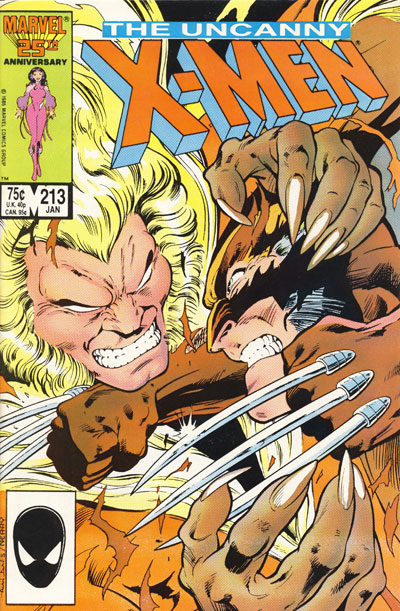 Wolverine Covers: Uncanny X-Men #213