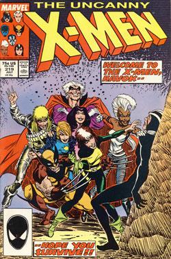 Wolverine Covers: Uncanny X-Men #219