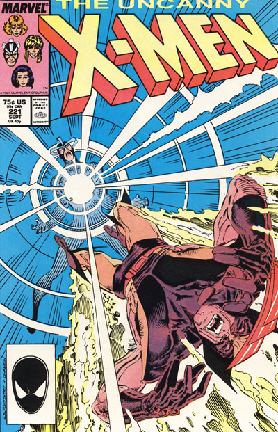 Wolverine Covers: Uncanny X-Men #221