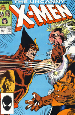 Wolverine Covers: Uncanny X-Men #222