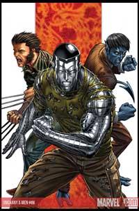 Uncanny X-Men #496 cover