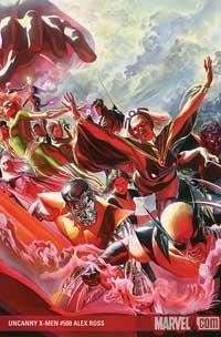 Uncanny X-Men #500 cover