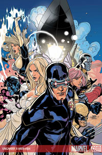 Uncanny X-Men #505 cover