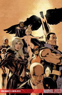 Uncanny X-Men #513 cover