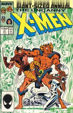 Wolverine Covers: Uncanny X-Men Annual #11