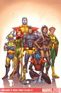 Uncanny X-Men: First Class #1 cover