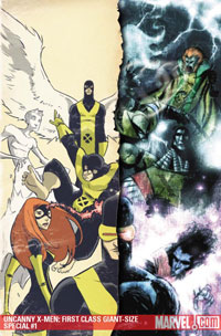 Uncanny X-Men: First Class Giant-Size Special #1 cover