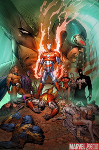 Dark Avengers/Uncanny X-Men: Utopia #1 cover