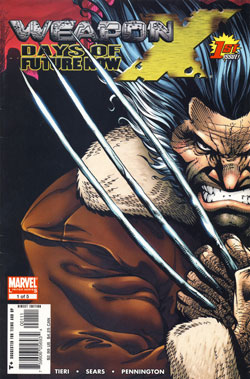 Weapon X: Days of Future Now #1 cover