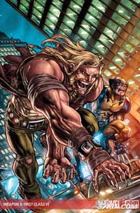 Weapon X: First Class #1 cover
