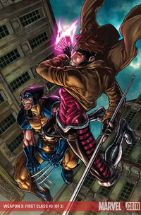 Weapon X: First Class #3 cover