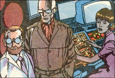 Dr. Cornelius, the Professor and Carol Hines