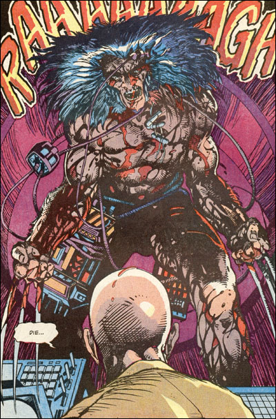 Logan as Weapon X