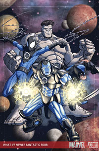 What If Newer Fantastic Four cover