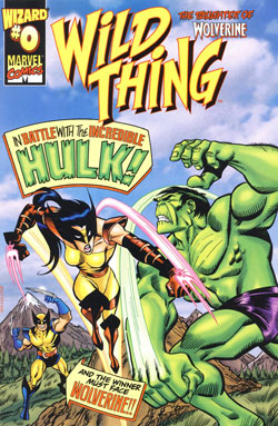 Wild Thing #0 cover