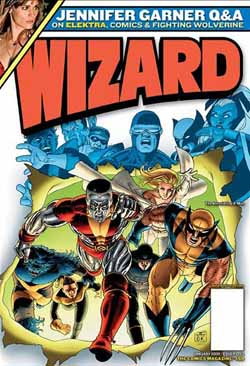 Wizard Magazine #159 cover