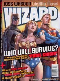 Wizard Magazine #197 cover</p></blockquote> <p>