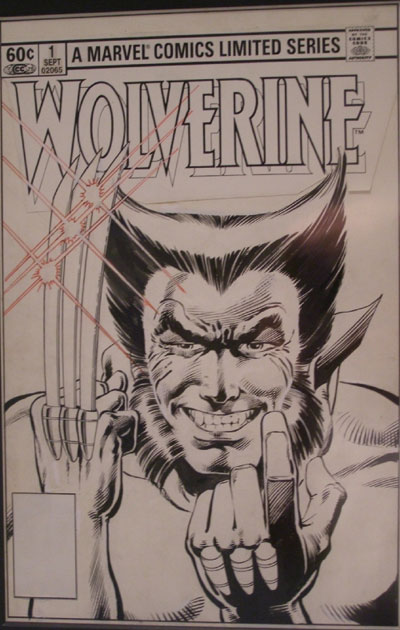 Original art for Wolverine #1 Limited Series cover
