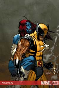 Wolverine #62 cover