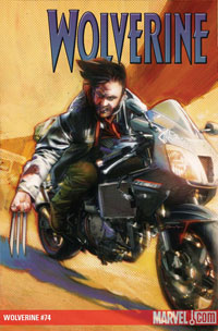 Wolverine #74 cover