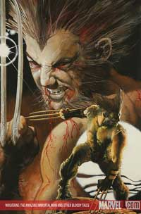 Wolverine: Amazing Immortal Man and Other Bloody Tales cover