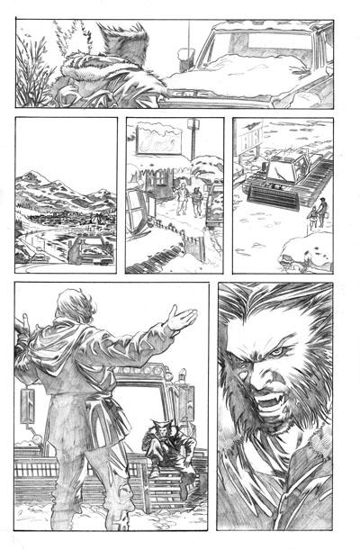 Jerry Lando Wolverine Art