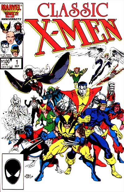 Wolverine Covers: Classic X-Men #1
