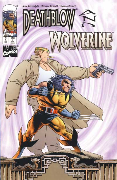 Wolverine Covers: Deathblow and Wolverine #2
