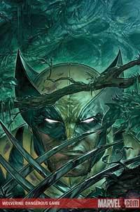 Wolverine: Dangerous Games cover