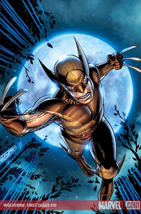 Wolverine: First Class #10 cover