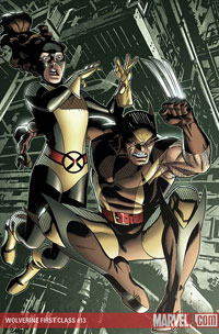 Wolverine: First Class #13 cover