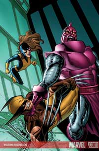 Wolverine: First Class #3 cover