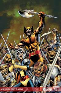 Wolverine: First Class #4 cover