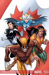 Wolverine: First Class #5 cover