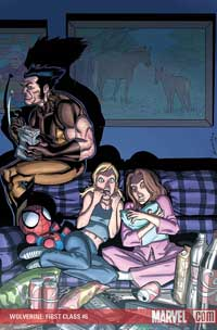 Wolverine: First Class #6 cover