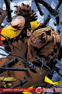 Wolverine: First Class #8 cover