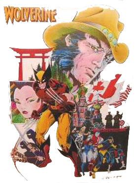 Wolverine poster by Rick Leonardi