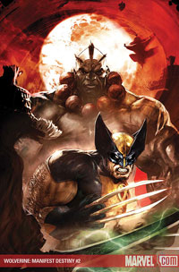 Wolverine: Manifest Destiny #2 cover