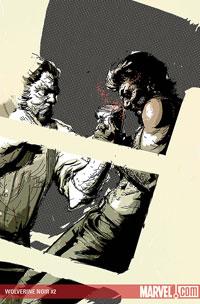 Wolverine Noir #2 cover
