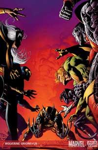 Wolverine: Origins #29 cover