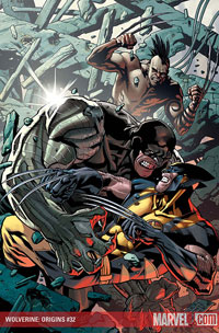 Wolverine: Origins #32 cover