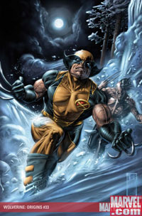 Wolverine: Origins #33 cover
